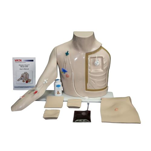 Chester Chest™ mit neuem, weiterentwickeltem Arm, 1021821, Advanced Trauma Life Support (ATLS)