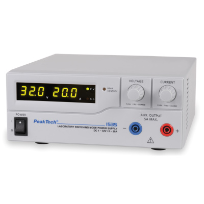 U11827-230: DC Power Supply, 32 V, 20 A (230 V, 50/60 Hz) 1