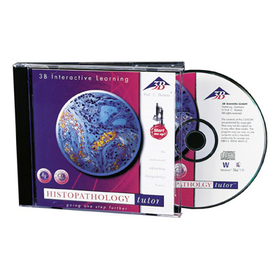 CD-ROM Histopathologie, Englisch (Macintosh/Windows), 1004881 [W14021], Biologie Software