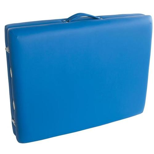 Tragbare Massageliege Basic - Blau, 1013724 [W60601B], Massageliegen