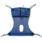 W49831L: Mesh Full Body Sling with Commode Opening, Large