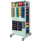 W54001: Double-Sided Mobile Combo Rack